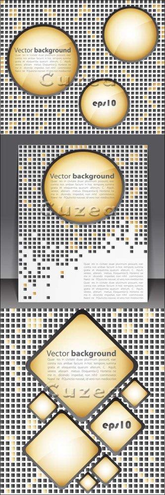 Абстрактные фоны в векторе/ Abstract backgrounds in vector
