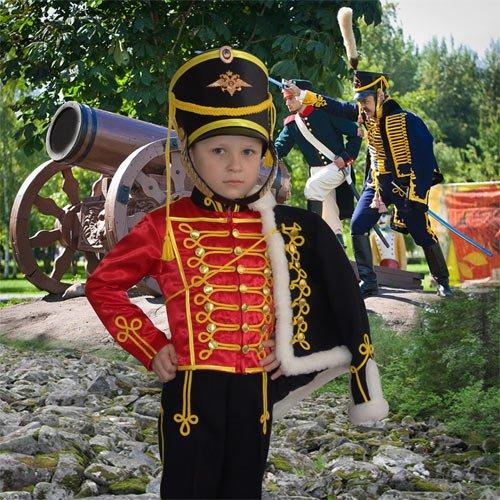 Шаблон  детский  ''Как хорошо быть генералом ''