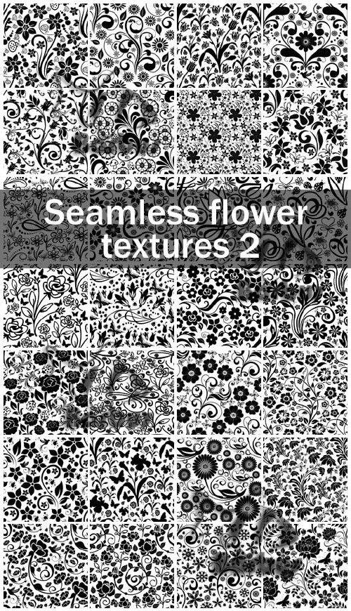 Seamless flower textures 2 / Бесшовные цветочные текстуры 2