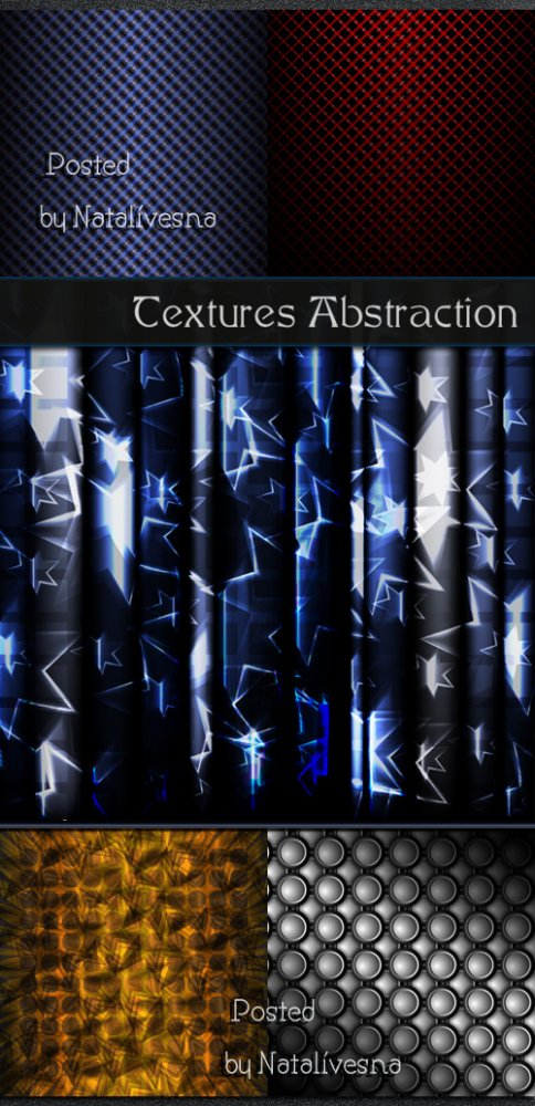 Текстуры - абстракция / Textures abstraction - Stock photo