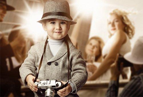 Шаблон  детский  ''Фотосъёмка ''