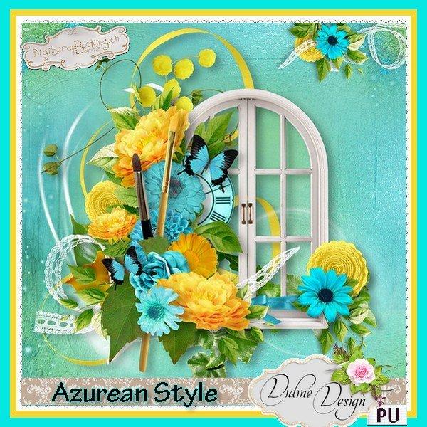 Скрап-набор Azurean Style