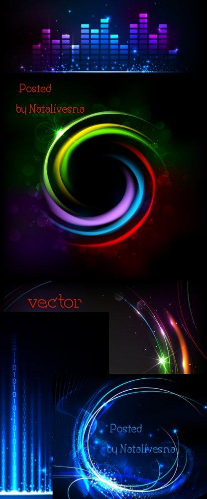 Абстрактные круги в Векторе / Vector - Abstract circles