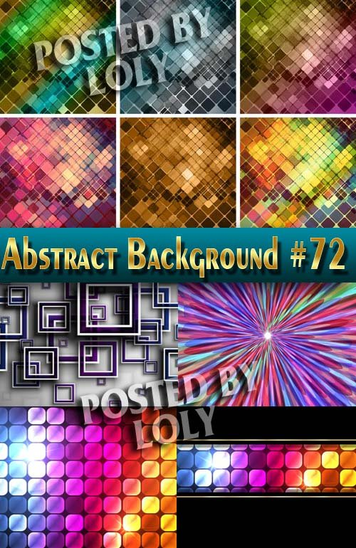 Абстрактные Векторные Фоны #72 - Векторный клипарт