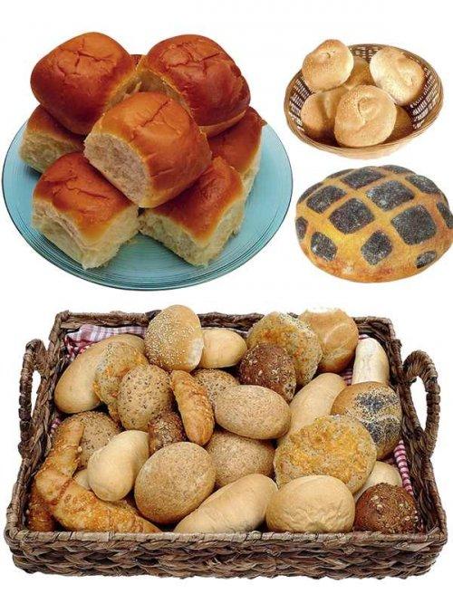 Фотосток: выпечка, булочки