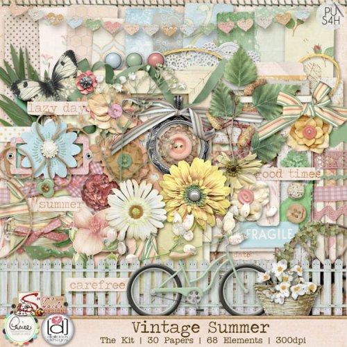 Скрап-набор Vintage Summer