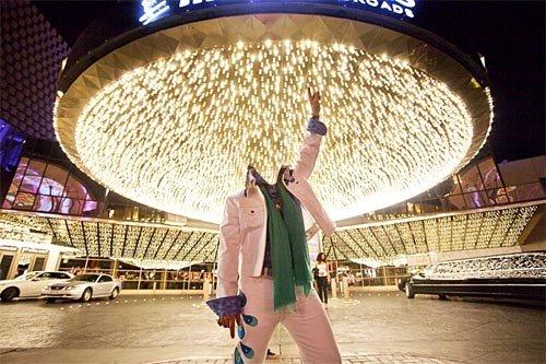 PSD шаблон - Сияющий Vegas