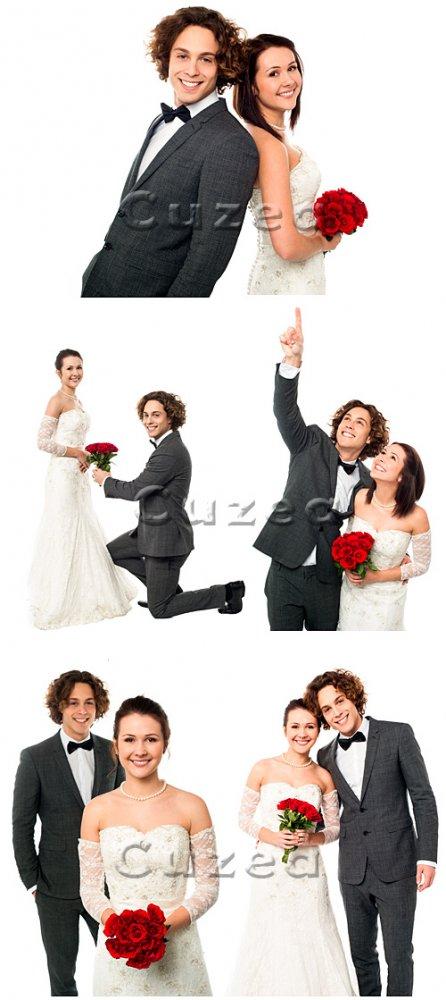 День свадьбы / Wedding day - Stock photo