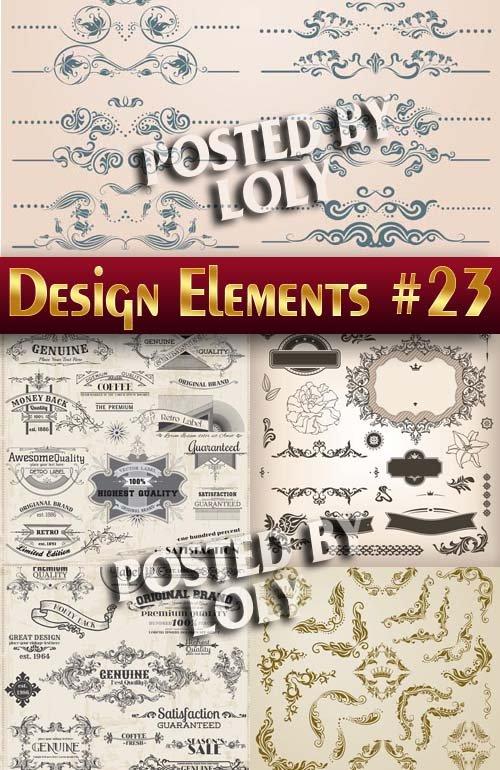 Элементы Дизайна #23 - Векторный клипарт