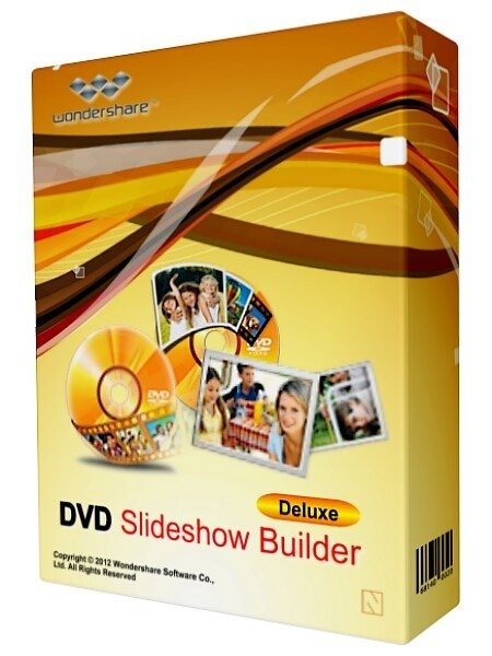 Portable - Wondershare DVD Slideshow Builder Deluxe 6.1.13.0