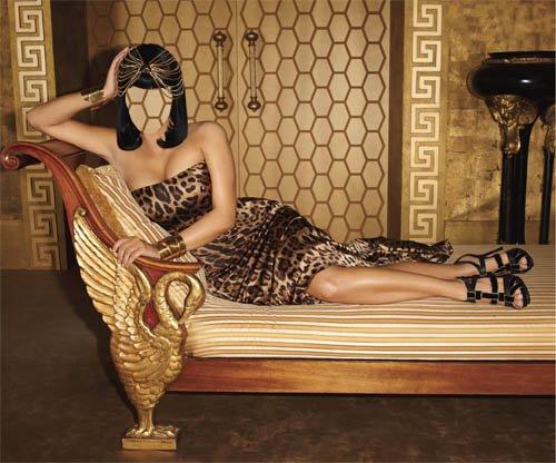 Женский шаблон - Египетская фотосессия
