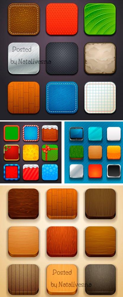 Красивые кнопочки в Векторе / Vector - Beautiful buttons