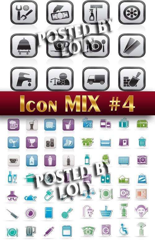 Иконки. Микс #4 - Векторный клипарт