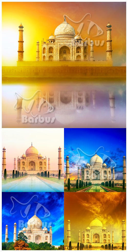 Taj Mahal / Тадж-Махал -  мавзолей-мечеть