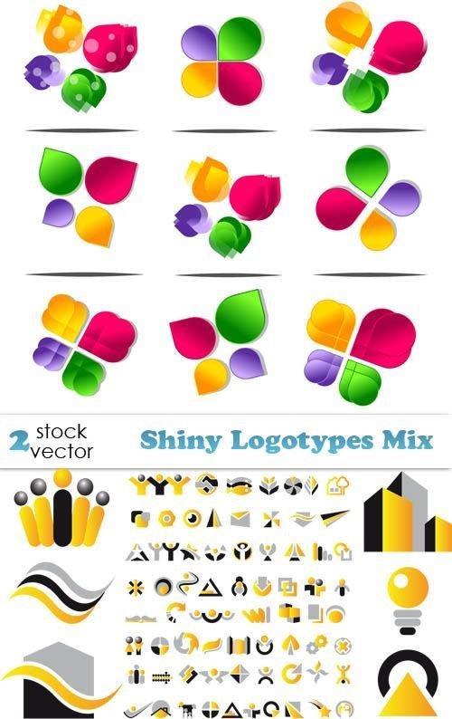 Vectors - Shiny Logotypes Mix