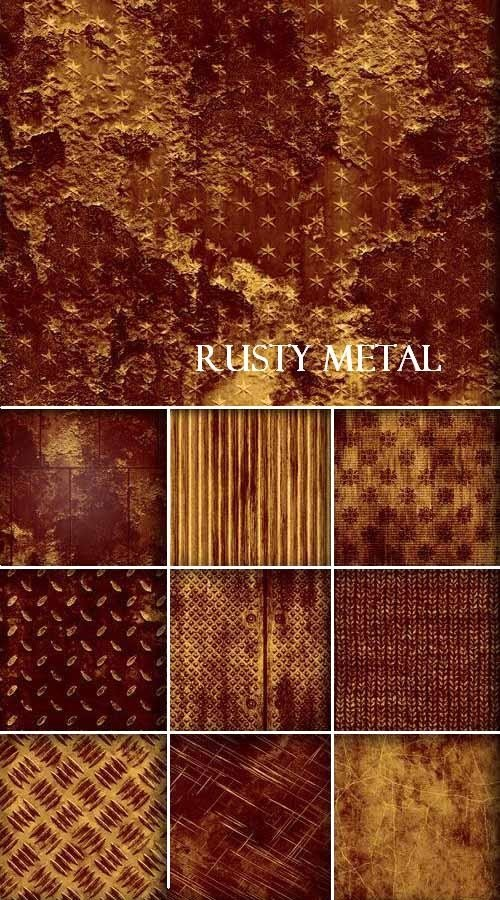 Коллекция текстур ржавого металла