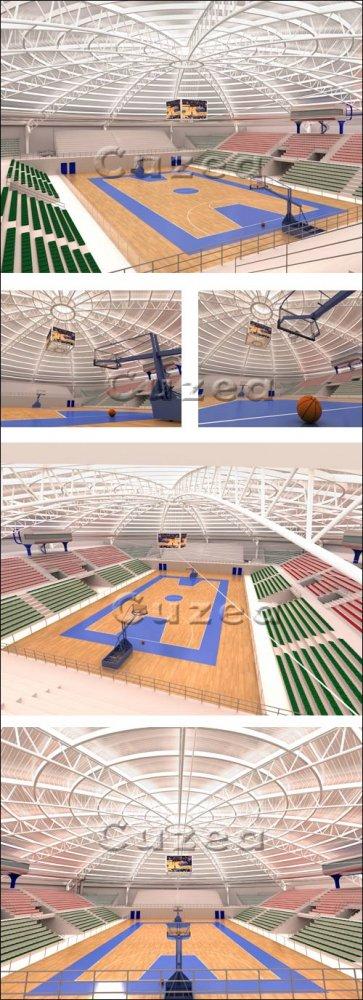 Современный спортивный зал / Modern Gym - Stock photo
