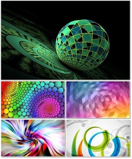 Abstract graphics on background for your desktop 19