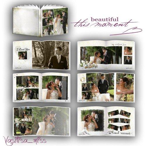 Свадебная фотокнига  - Этот прекрасный момент