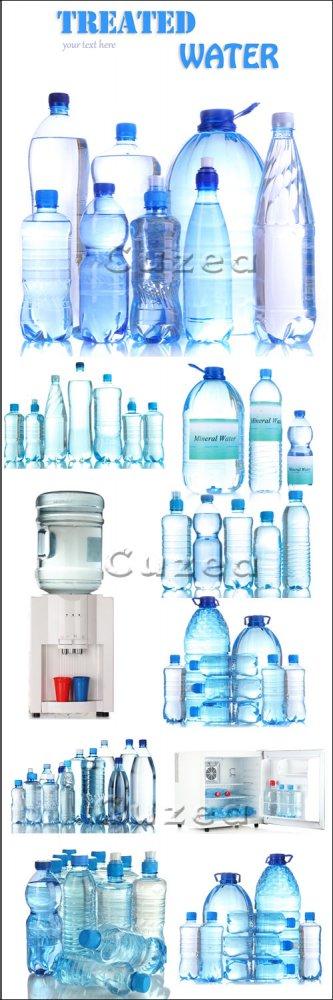 Природная и минеральная вода / Natural and mineral water - stock photo