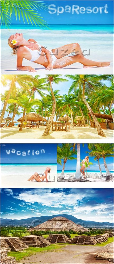 Каникулы в лето / Vacation on the summer - stock photo