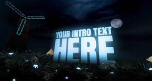 Проект Fantasy Island для After Effects