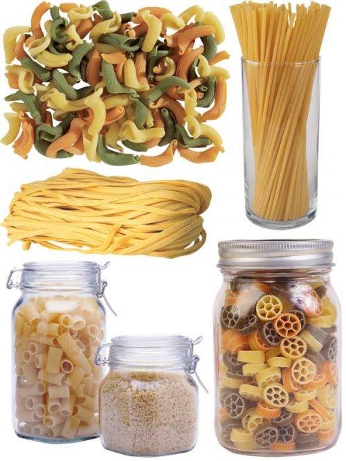 Фотосток: макароны, рожки, спагетти