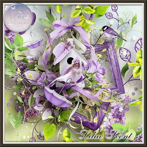 Скрап-набор Lilac Scent