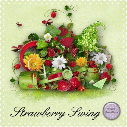 Скрап-набор Strawberry Swing