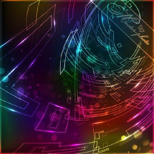 Исходник PSD многослойный - Абстрактный фон