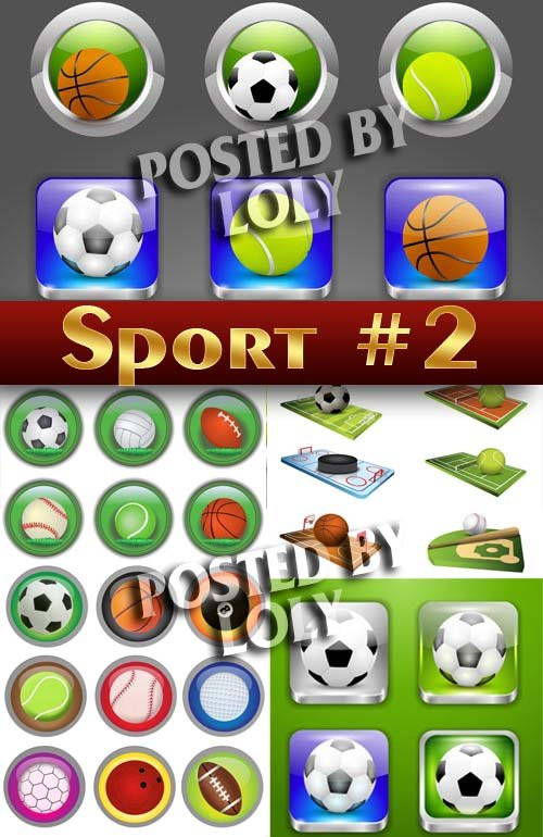 Спорт #2 - Векторный клипарт