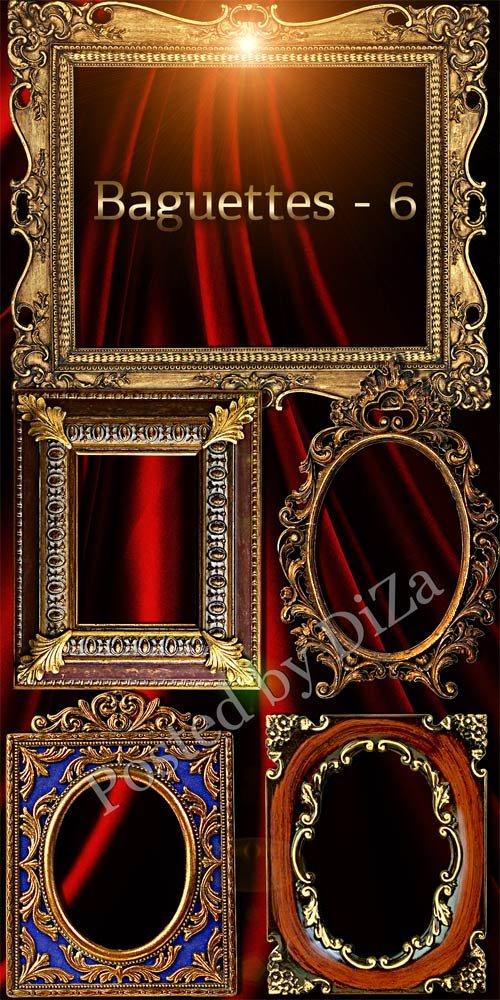 Роскошные рамки багеты 6