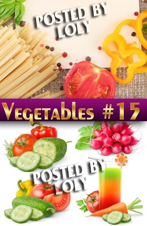Свежие овощи #15 - Растровый клипарт