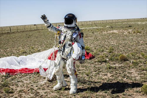 Мужской шаблон - Космонавт
