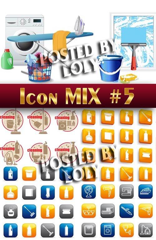 Иконки. Микс #5 - Векторный клипарт