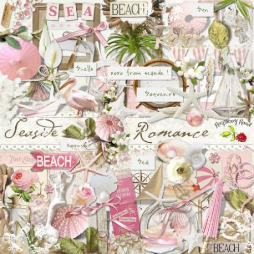 Скрап-набор Seaside Romance