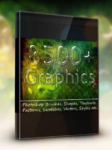 8500+ Photoshop Graphics Bundle