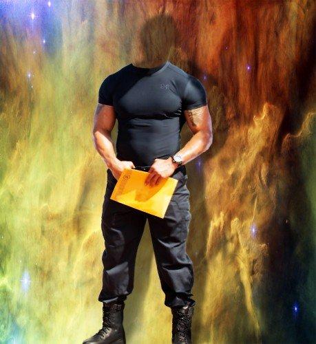 Шаблон для мужчин-парень атлетического телосложения