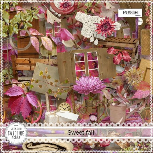 Scrap kit Sweet Fall