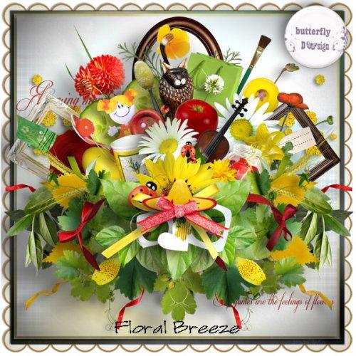 Скрап-набор Floral Breeze