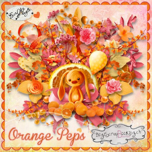 Скрап-набор Orange Peps Bundle
