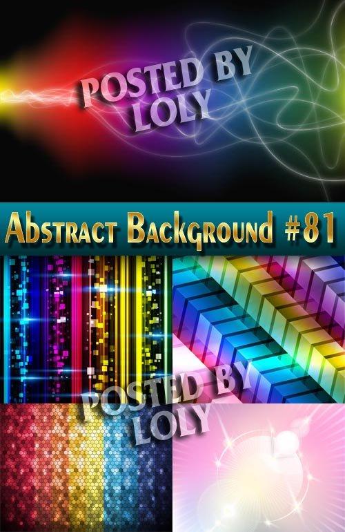 Абстрактные Векторные Фоны #81 - Векторный клипарт