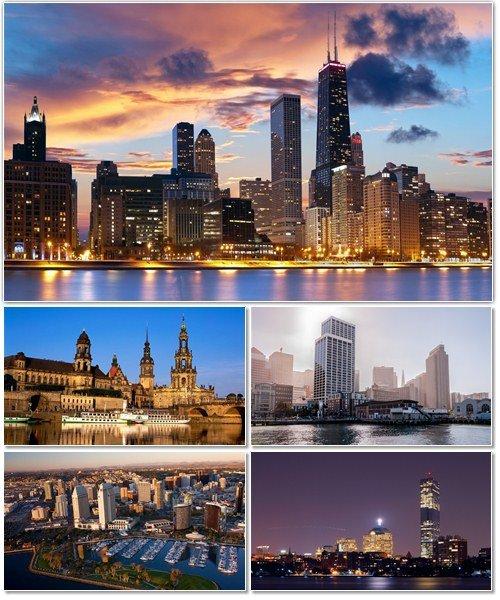 Фото архитектуры крупных городов мира на фон рабочего стола 21