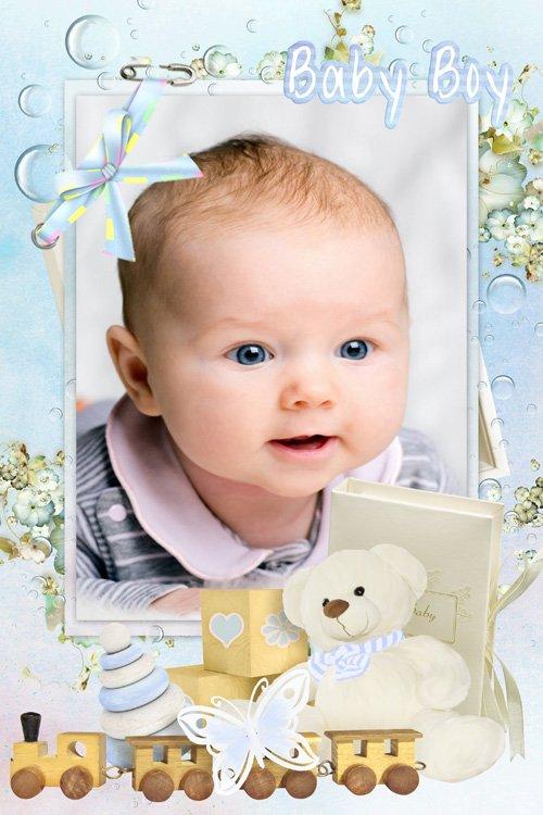 Детская рамка - Драгоценный крошка