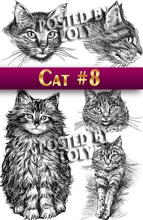 Чудесные котята #8 - Векторный клипарт