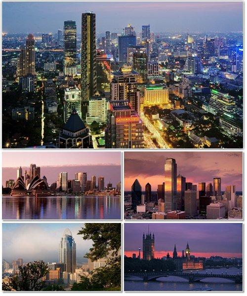 Фото архитектуры крупных городов мира на фон рабочего стола 22