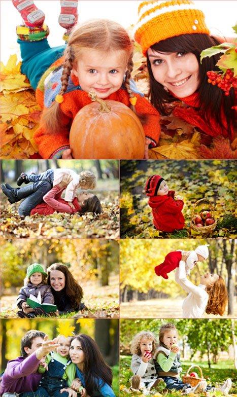 Фотосток - Осень и Семья