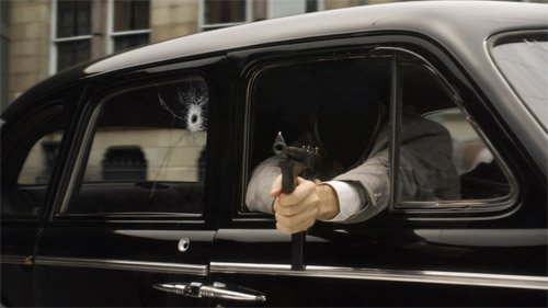 Мужской шаблон - Грозный гангстер