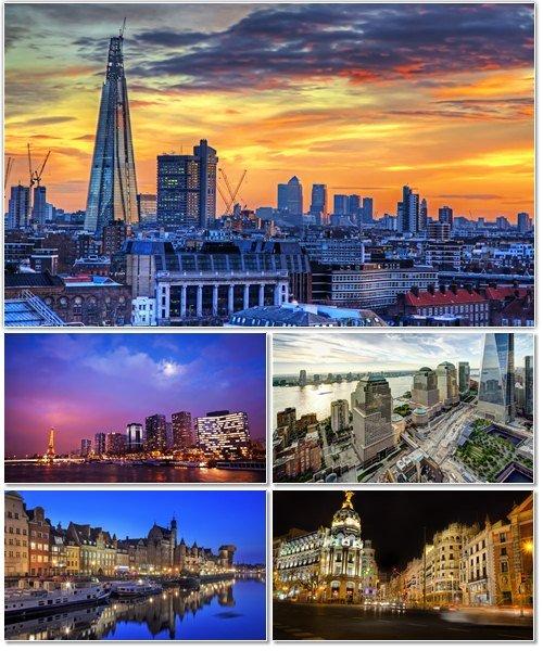 Фото архитектуры крупных городов мира на фон рабочего стола 23