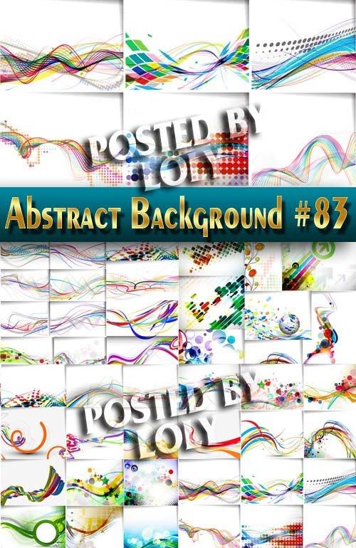 Абстрактные Векторные Фоны #83 - Векторный клипарт